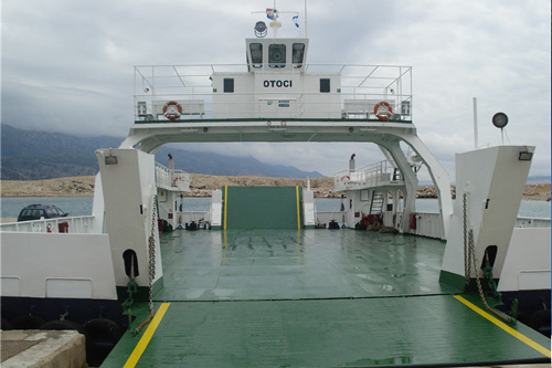 Maritime transport biograd ferry